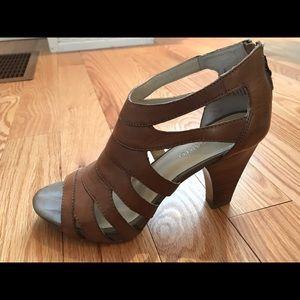 Franco Sarto Leather Sandals